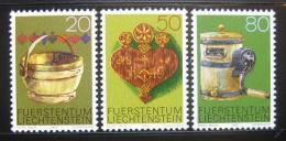 Poštovní známky Lichtenštejnsko 1980 Farmáøské nástroje Mi# 747-9