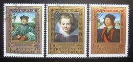 Poštovní známky Lichtenštejnsko 1985 Umìní Mi# 881-83