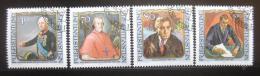 Poštovní známky Lichtenštejnsko 1984 Slavní návštìvníci Mi# 839-42