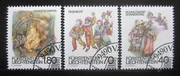 Poštovní známky Lichtenštejnsko 1983 Místní zvyky Mi# 818-20