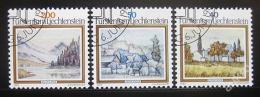Poštovní známky Lichtenštejnsko 1983 Krajiny Mi# 821-23
