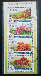 Poštovní známky Šalamounovy ostrovy 2015 Houby Mi# 3097-3100 Kat 17€  - zvìtšit obrázek
