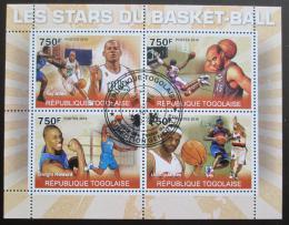 Poštovní známky Togo 2010 Basketbal Mi# 3604-07 Kat 12€