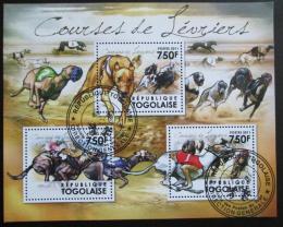 Poštovní známky Togo 2011 Závodní psi Kat 12€