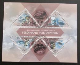 Poštovní známky Togo 2013 Vzducholodì Mi# 5021-24 Kat 12€