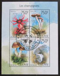 Poštovní známky Togo 2014 Houby Mi# 5677-80