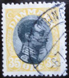 Poštovní známka Dánsko 1919 Král Christian X. Mi# 103