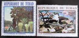 Poštovní známky Èad 1968 Umìní Mi# 201-02