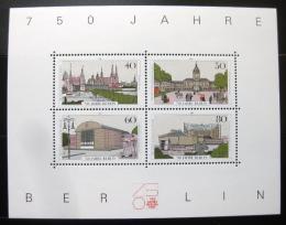 Poštovní známky Západní Berlín 1987 Berlín Mi# Block 8 Kat 6€