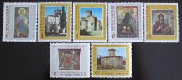 Poštovní známky Bulharsko 1966 Umìní Mi# 1605-11