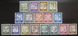 Poštovní známky Nìmecko 1961-64 Osobnosti Mi# 347-62
