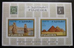 Poštovní známka Fudžajra 1966 Egypt Mi# Block 2B