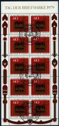Poštovní známky Nìmecko 1979 Den známek Mi# 1023 Kat 14€