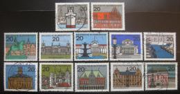 Poštovní známky Nìmecko 1964-65 Hlavní mìsta Mi# 416-27
