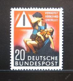 Poštovní známka Nìmecko 1953 Prevence nehod Mi# 162 Kat 18€