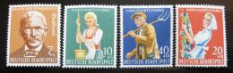 Poštovní známky Nìmecko 1958 Prosperita Mi# 297-300 Kat 8.50€