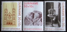 Poštovní známky Surinam 1986 Katedrála Mi# 1177-79