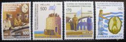 Poštovní známky Øecko 1996 Pøipojení ostrova Dodecanese Mi# 1968-71