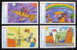 Poštovní známky Øecko 2000 Dìtské kresby Mi# 2040-43