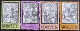 Poštovní známky Ghana 1978 Rytiny, Albrecht Durer Mi# 767-70