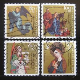 Poštovní známky Nìmecko 1991 Náboženské umìní Mi# 1578-81