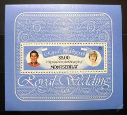 Poštovní známka Montserrat 1981 Královská svatba Mi# Block 24