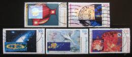 Poštovní známky Nìmecko 1999 Kosmos Mi# 2077-81