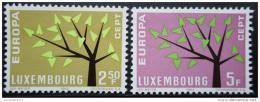 Poštovní známky Lucembursko 1962 Evropa CEPT Mi# 657-58
