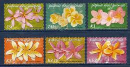 Poštovní známky Papua Nová Guinea 2005 Kvìtiny Mi# 1123-28