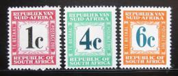 Poštovní známky JAR 1961 Doplatní Mi# 51-53 Kat 17€