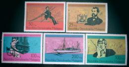 Poštovní známky Madagaskar 1976 Alexander Graham Bell Mi# 794-98