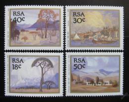 Poštovní známky JAR 1989 Umìní Mi# 779-82