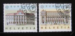 Poštovní známky Švýcarsko 1990 Evropa CEPT Mi# 1415-16
