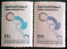 Poštovní známky Sýrie 1976 Zdravotnictví Mi# 1324-25