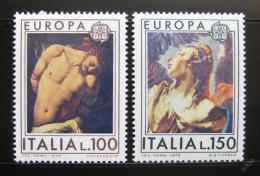 Poštovní známky Itálie 1975 Evropa CEPT, umìní Mi# 1489-90