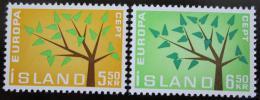 Poštovní známky Island 1962 Evropa CEPT Mi# 364-65