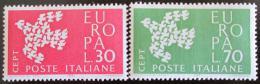 Poštovní známky Itálie 1961 Evropa CEPT Mi# 1113-14