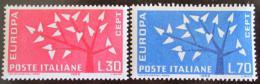 Poštovní známky Itálie 1962 Evropa CEPT Mi# 1129-30