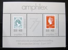 Poštovní známky Nizozemí 1977 AMPHILEX výstava Mi# Block 16