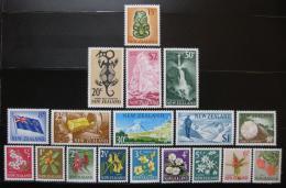 Poštovní známky Nový Zéland 1967 Decimal nekompl. Kat 61.60€