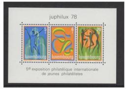 Poštovní známky Lucembursko 1978 Výstava JUPHILUX Mi# Block 12