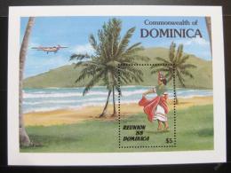 Poštovní známka Dominika 1988 Výroèí nezávislosti Mi# Block 128