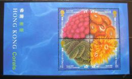 Poštovní známky Hongkong 1994 Korály Mi# Block 33