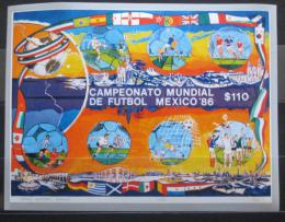 Poštovní známka Mexiko 1986 MS ve fotbale Mi# Block 33