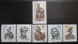 Poštovní známky Západní Berlín 1967 Umìní Mi# 303-08