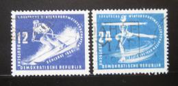 Poštovní známky DDR 1950 Zimní hry Mi# 246-47