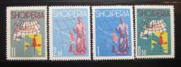 Poštovní známky Albánie 1962 Turistická propaganda Mi# 683-86