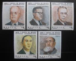 Poštovní známky Mexiko 1982 Vìdci Mi# 1840-44