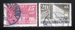 Poštovní známky Finsko 1945 Stavby Mi# 317-18