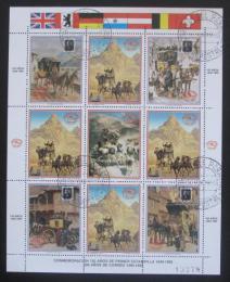 Poštovní známky Paraguay 1990 Transport pošty Mi# 4481